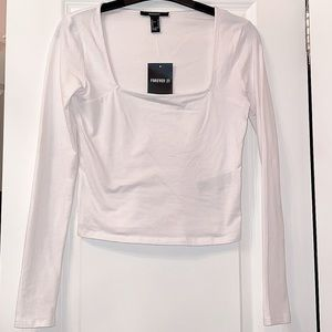 Forever 21 square neck Tee